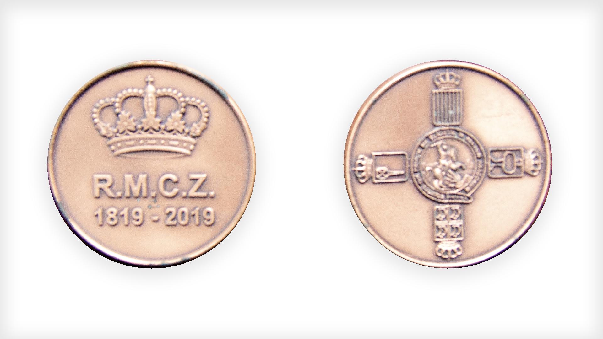 RMCZ moneda conmemorativa