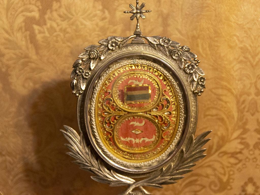 RMCZc Detalle reliquia de San Jorge