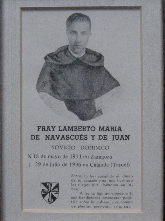 Beato Fray Lamberto de Navascués