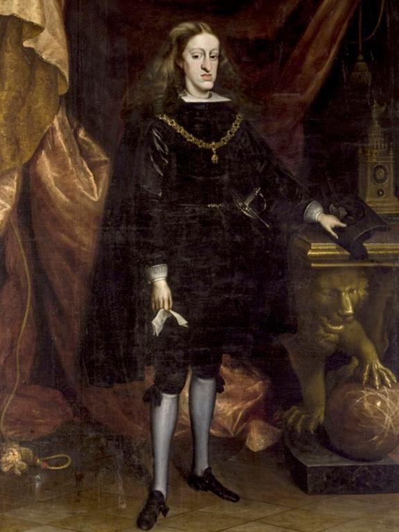 Carlos II por Juan Carreño