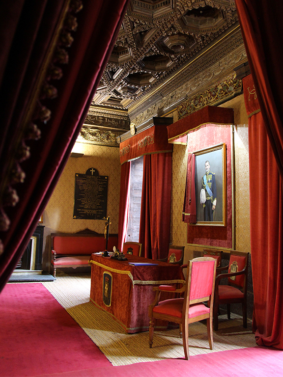 Palacio de Donlope-sala de juntas generales