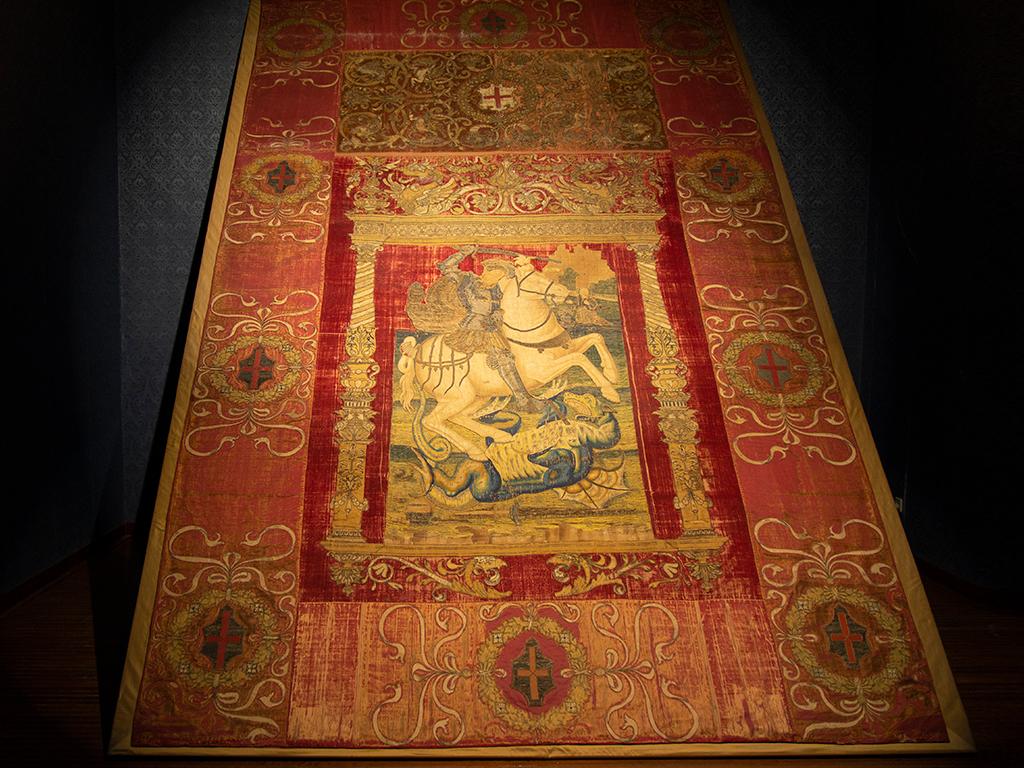El tapiz de San Jorge
