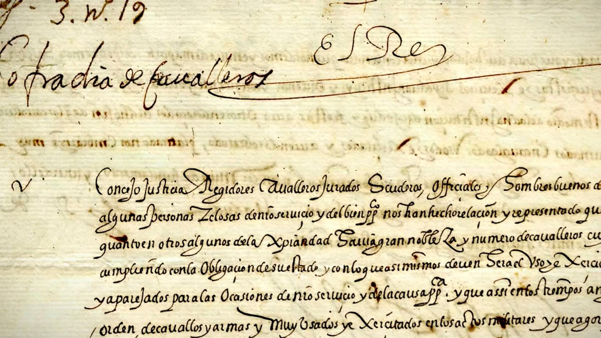 Real Cédula del 1572