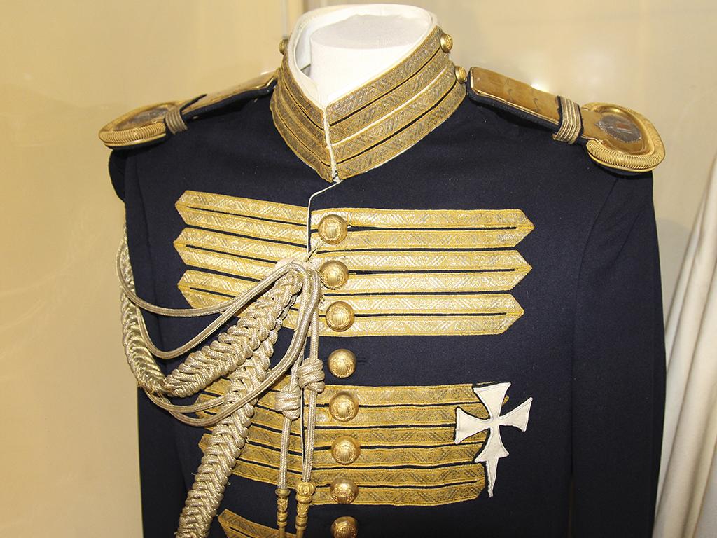 Detalle casaca RMCZ