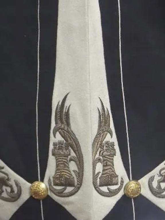 decoración casaca uniforme rmcz