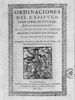 1675 Ordinaciones Caballeros de San Jorge