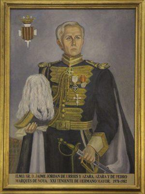 D. Jaime Jordán de Urries y Azara, Marqués de Noya
