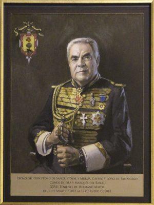 D. Pedro de Sancristóval y Murúa ,Conde de Isla