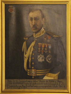 D.Joaquín Cavero y Sichar, Conde de Gabarda
