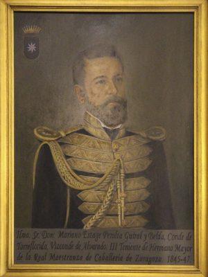 Mariano Estage y Peralta, Conde de Torreflorida 1845 - 1845
